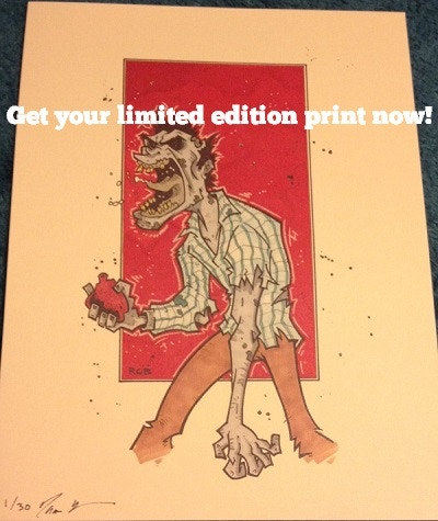 "Awesome 8""x11"" art print!"