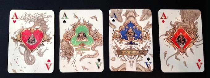 diamond deck Ace set
