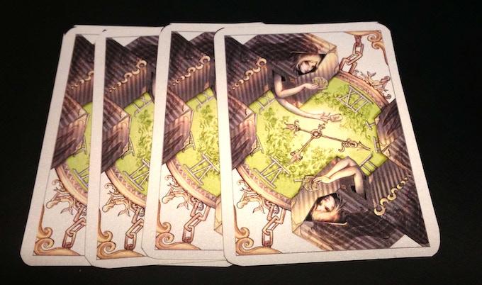 diamond deck card back-siren's memories