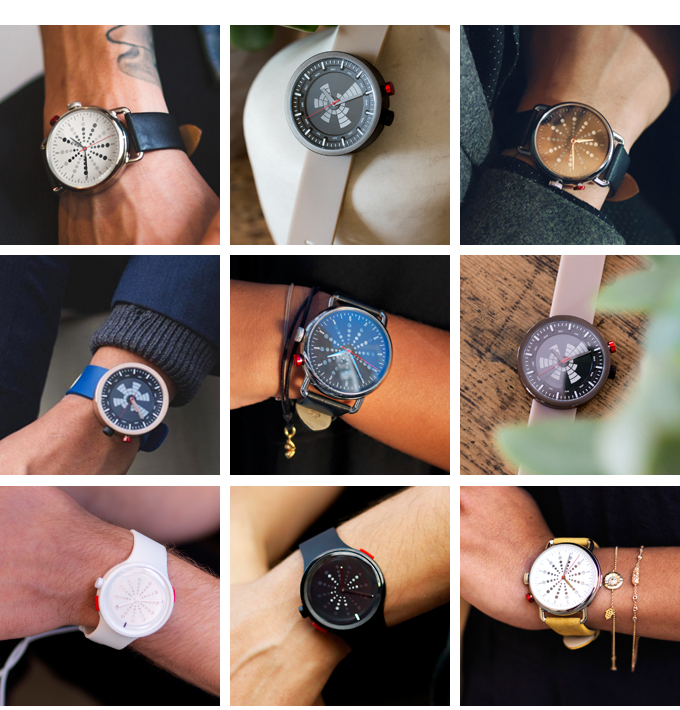 Stop-the-Time watch is available in several styles