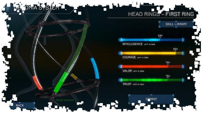 Genomia User Interface
