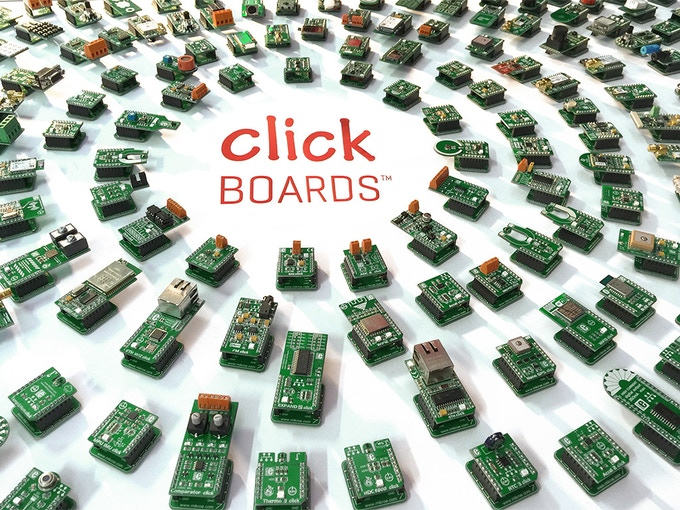 Hundreds of click boards available, click on the image to browse the entire selection