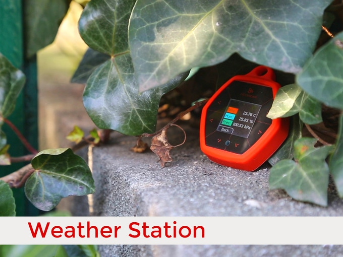 Create a Weather station that reports data in real time to the cloud