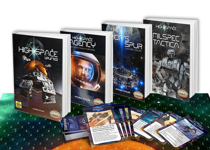 Sample cover art & Command Deck