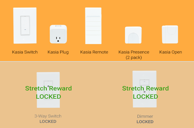 Select among all unlocked devices. Selecting Kasia Presence includes 2 presence sensors.