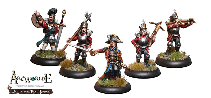 Captain Flynt's Albionnicans - painted by Adam Parkhouse