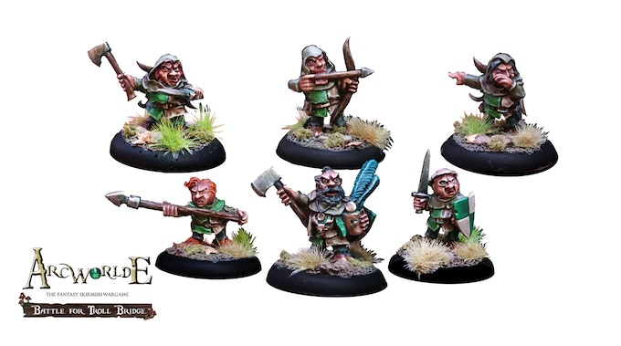 Captain Bullhoof's Halflings - painted by Joe Karame