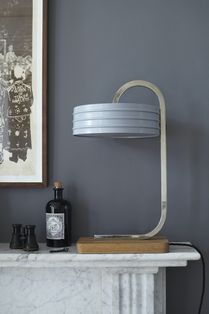 Handmade lamp from Simon Day & book - £400