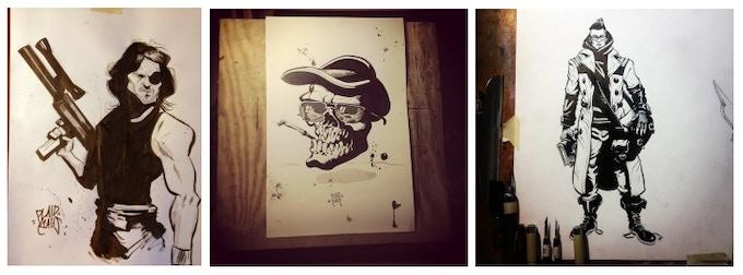Inked art reward by Plaid Klaus