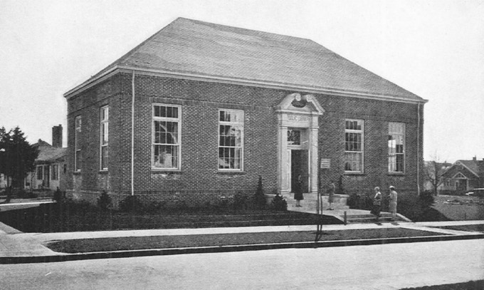 The original Hollywood Library, where Beverly spent many hours
