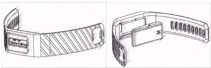 Smart fob silicone band concept