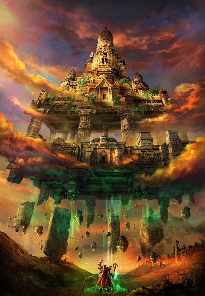 A Godbound Erects a Temple with a Word of Creation