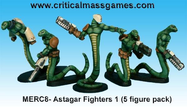 Original 5 Astagar Mercs sculpted in 2010