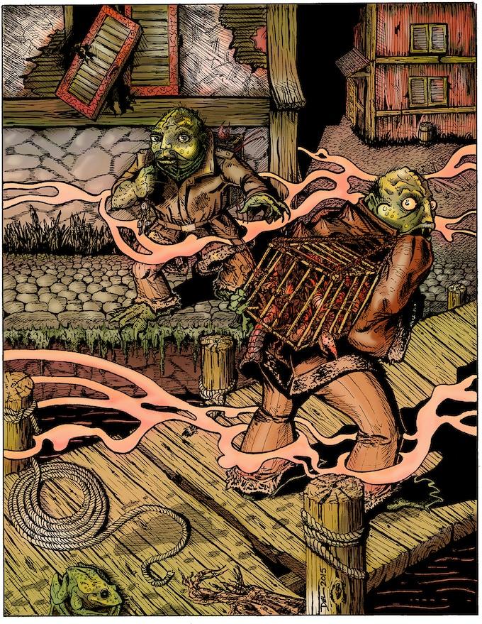 Greely Lobstermen by D. Teigeler and D. Bingham