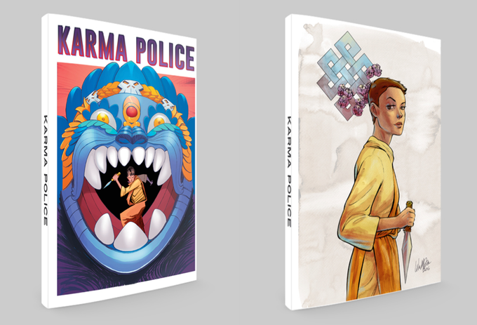 standard and variant cover mock-ups