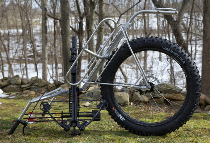 """FATTIE II (4"""" Wheel) with DEER CARRIER"""