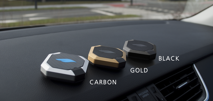 Bluejay Carbon, Gold and Black