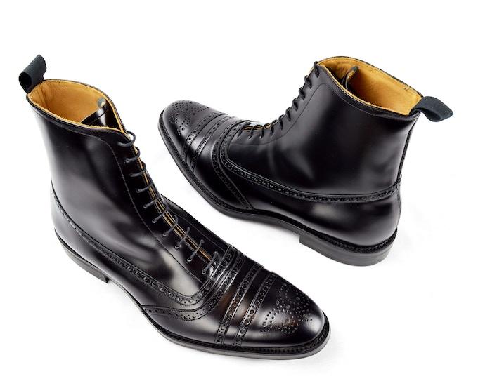 SJC Balmoral Boots in Black
