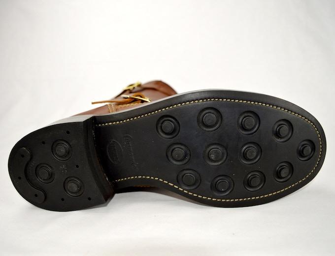 SJC Engineer vulcanised rubber sole