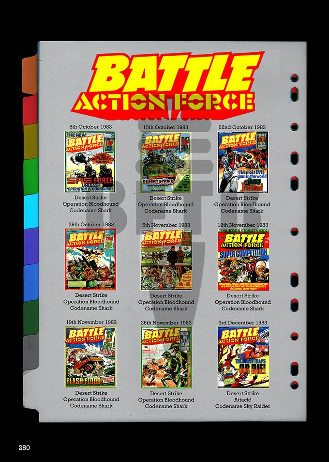 Page 280 - Battle Action Force sample page
