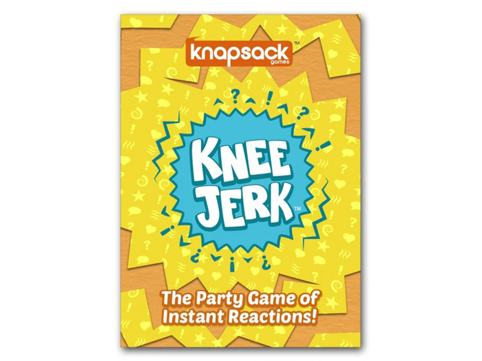 Create endings to funny situations in this fast-paced party game. The first player to shout their knee-jerk reaction wins the point!