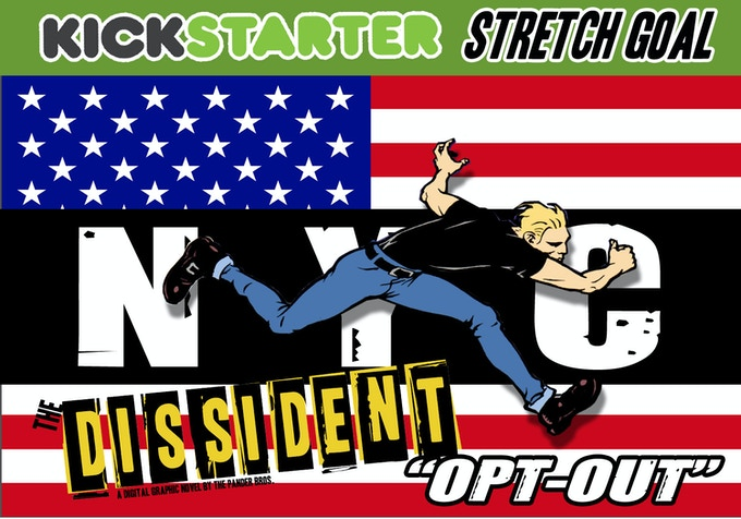 the dissident by pander brothers kickstarter