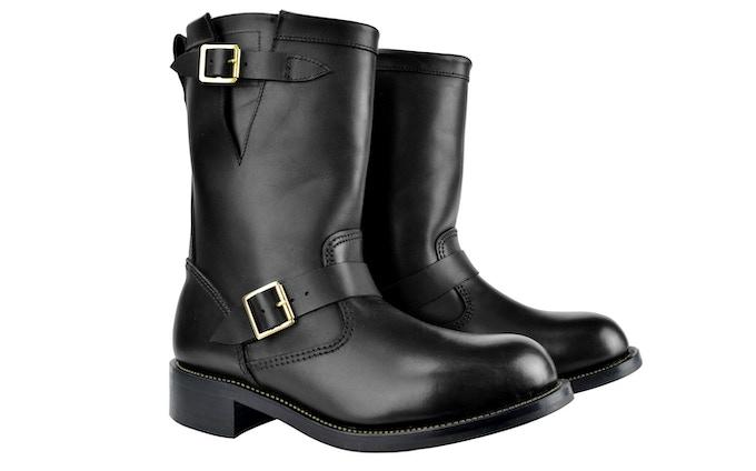 SJC Engineer Boot Black