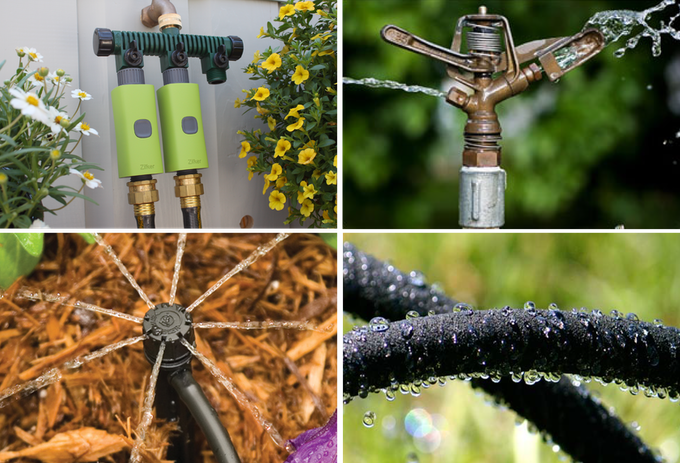 Combine Zilker with any sprinkler you choose.