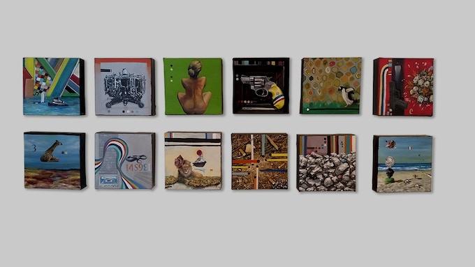 View paintings on my website