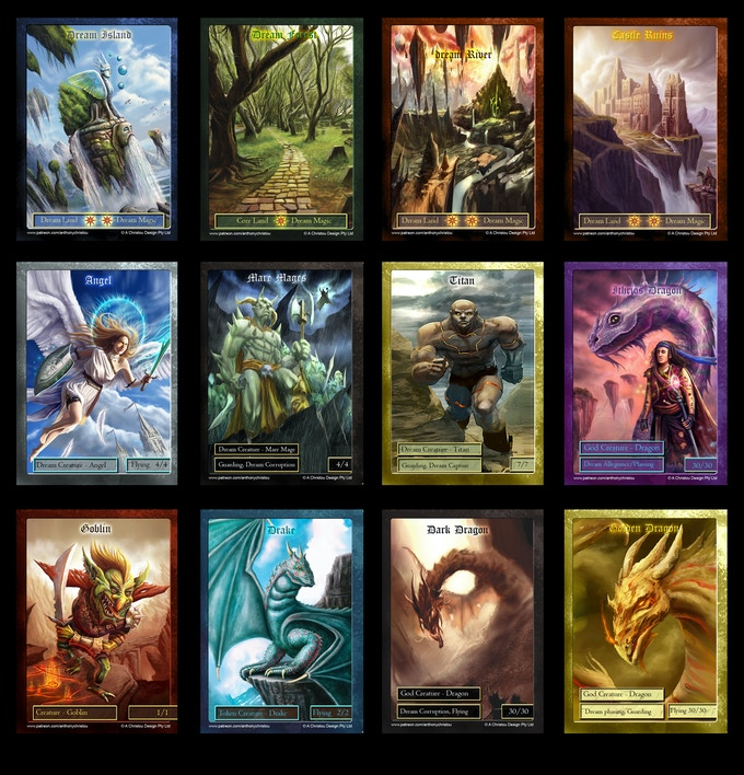 Trading Card Game for Luminous Ages