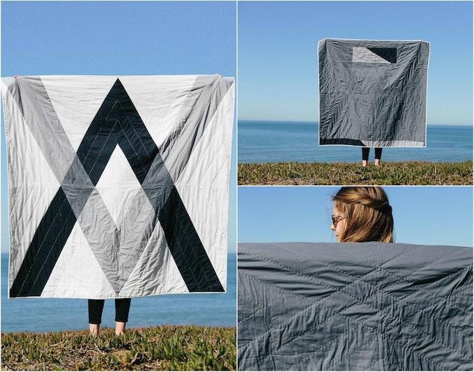 "Alumination Quilt (60""x60"")"