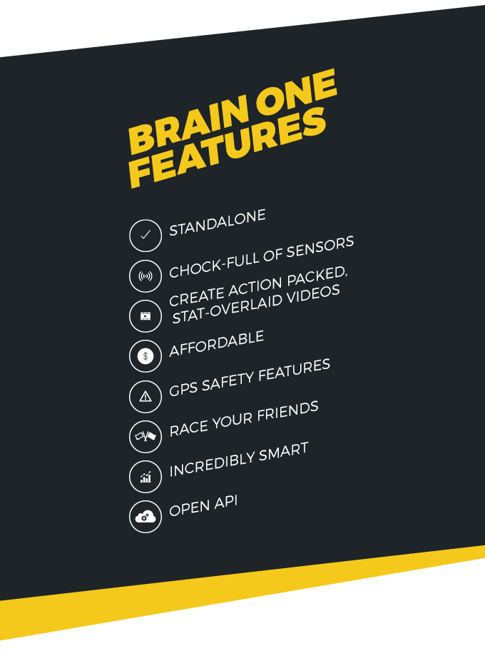 BRAIN One: Performance Tracking System for Motorcyclists by