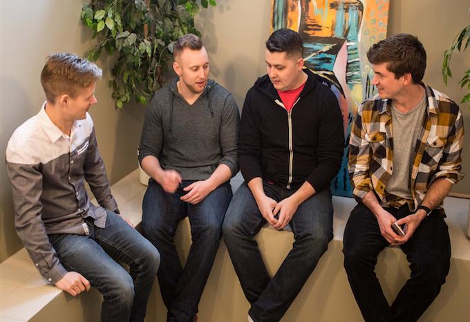 Adam, Bryce, Dustin, & Gord