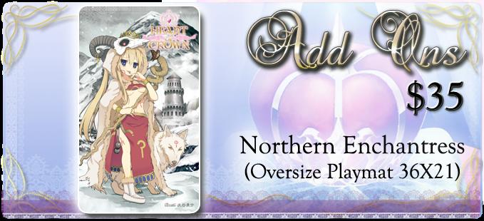 Northern Enchantress Playmat