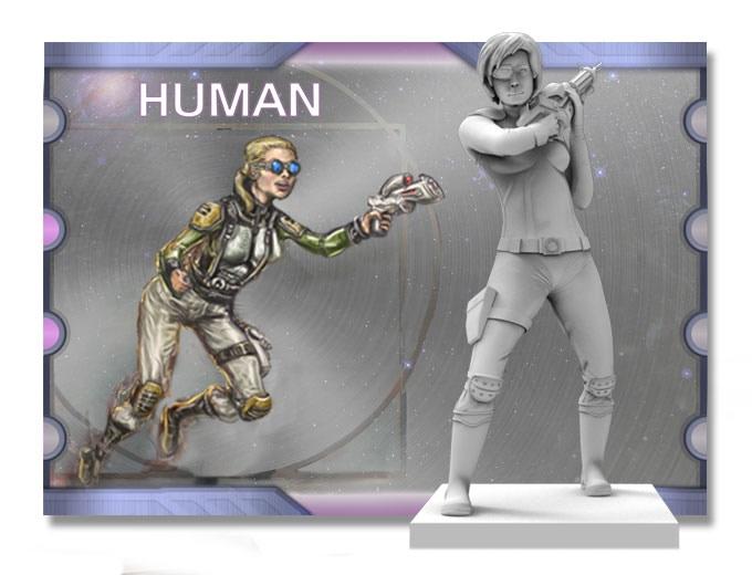 2 more Human (standing pose)