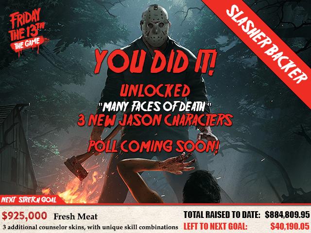 Slasher Backer Campaign is in Full Effect!