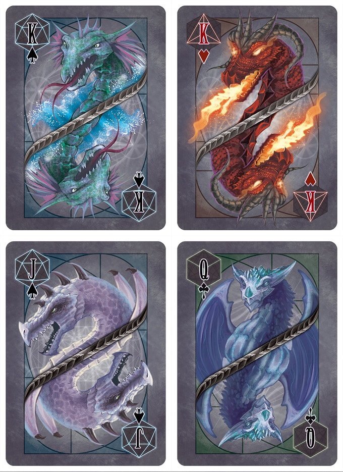 A sampling of the court cards
