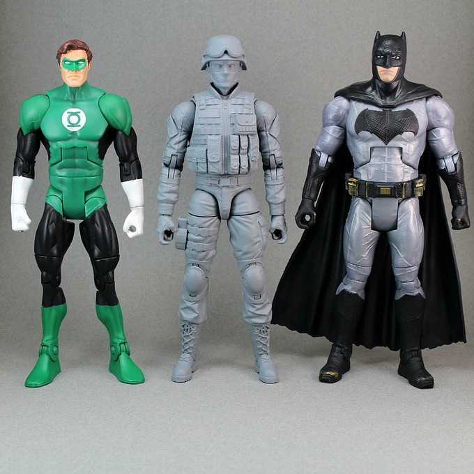 Height Comparison with DCUC and DC Multiverse figures