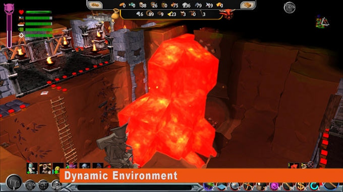 Water and lava flows dynamically which means that you should be careful when you dig and explore