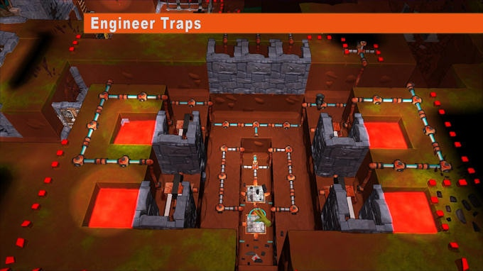 Use the in-depth hydraulics building option to build sophisticated automatic traps