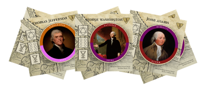Battle over the souls of the first 7 US Presidents