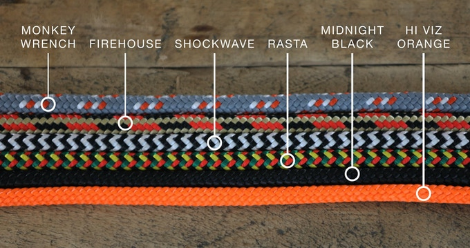 AVAILABLE ROPE COLORS