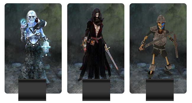 Undead Army units pictures: Wight, Wraith, Skeleton Warrior (armored)