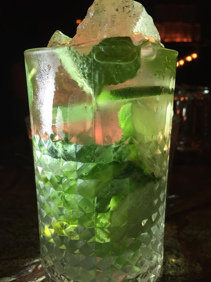 Berliner Smaragd. Gin, Tonic, Basil, Cucumber, Mint, Lime, Love