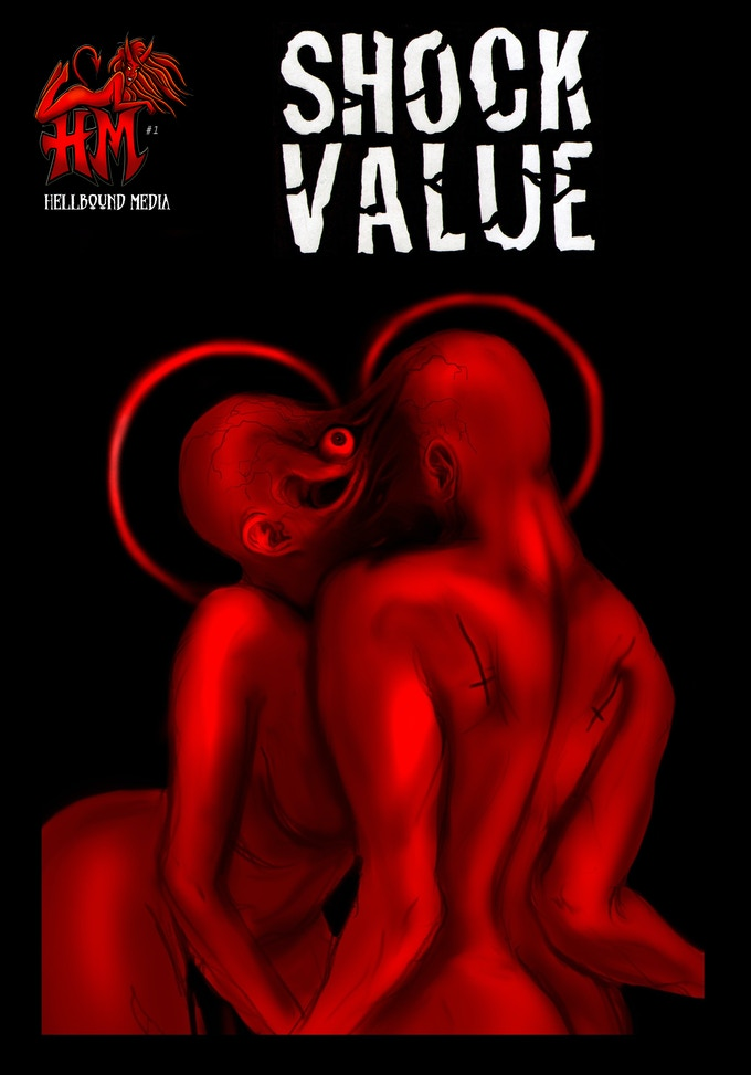 Shock Value Red cover art, by Anna Susanne