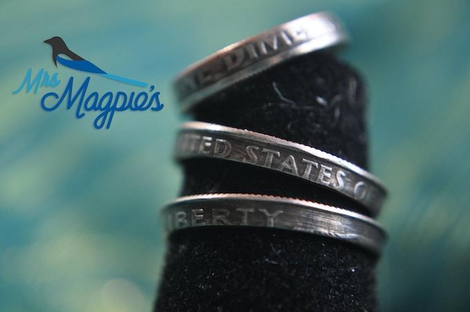 Dime Rings