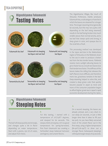 Tea Expertise: Higashiyama Fukamushi