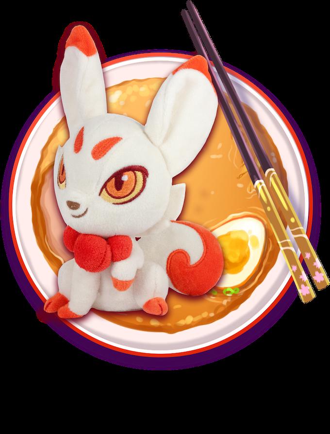 Includes: One Kitsune Plush