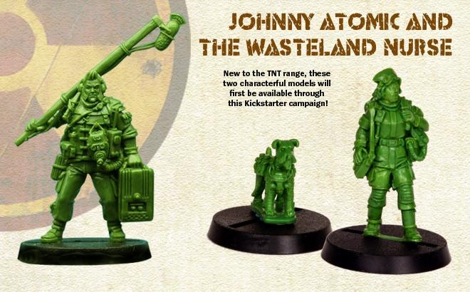 Johnny Atomic and Wasteland Nurse