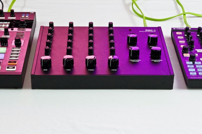 As a MIDI controller, the RMC-1 works perfectly as the centerpiece of your digital and analog DJ setup.